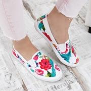 espadrile dama cu flori