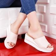 papuci dama roz