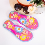 papuci de plaja dama colorati
