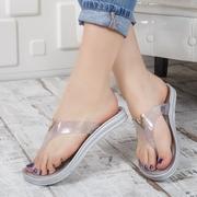 papuci de plaja dama pe deget