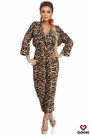 salopete de vara leopard