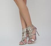 sandale cu toc elegante ieftine