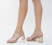 sandale de ocazie crem