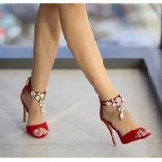 sandale de ocazie cu pietre