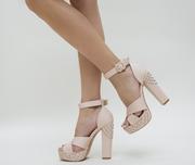 sandale de ocazie cu platforma