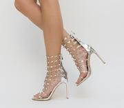 sandale de ocazie cu strasuri