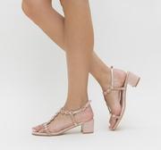 sandale de ocazie cu toc mic