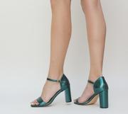 sandale de ocazie verzi