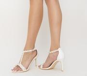 sandale de vara albe