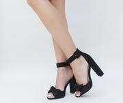 sandale de vara negre