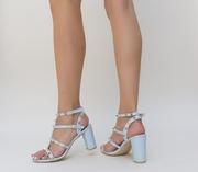 sandale elegante albastre