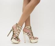 sandale elegante cu bretele