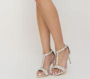 sandale elegante cu pietricele