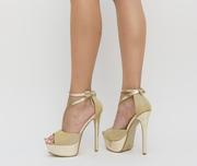 sandale elegante cu platforma