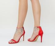 sandale elegante cu strasuri