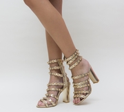 sandale elegante cu toc ieftine