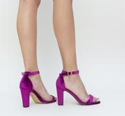 sandale elegante mov