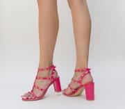 sandale elegante roz