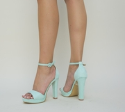 sandale elegante turcoaz