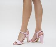 sandale ocazie roz